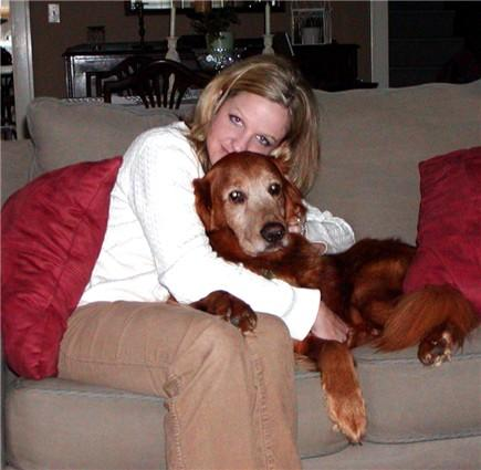Stacie and Scout